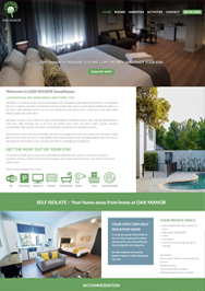 accommodation website design cape town south africa