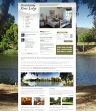 Bonnievale River Lodge Website Design