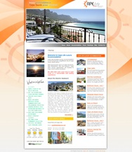 WORDPRESS WEBSITE - click here to go to www.capelife.co.za
