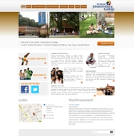 WORDPRESS WEBSITE - click here to go to www.cjc.co.za