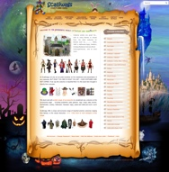WORDPRESS WEBSITE - click here to go to www.scalliwags.co.za