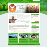 WORDPRESS WEBSITE - click here to go to www.spiritofthephoenix.co.za