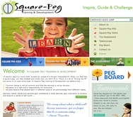 Click here to go to www.square-peg.co.za